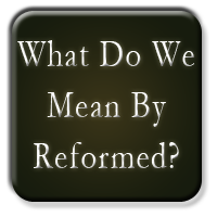 What Do We Mean by Reformed?