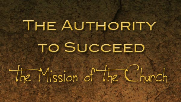 The Authority to Succeed