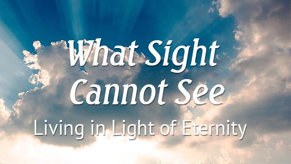 What Sight Cannot See